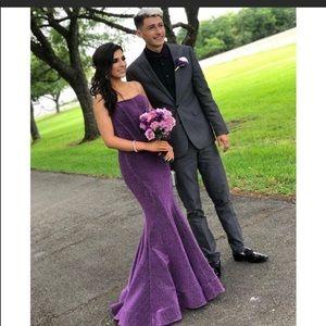 2020 Purple Prom Dress By Jovani ✨